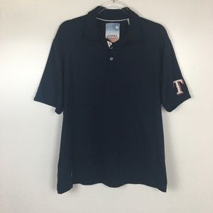 Tommy Bahama Texas Rangers Baseball Polo Shirt L